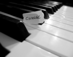 Whether major or minor –it's still change!